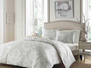 Stone Cottage Camden Cotton Grey Comforter Set  Retail 131 74