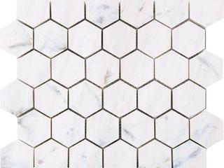 Bianco Dolomiti White Marble Mosaic Tile  Retail 177 49