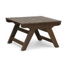 Sedona Outdoor Wooden Side Table by Christopher Knight