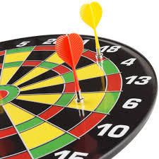 Magnetic Dart Board with 16 inch Boa