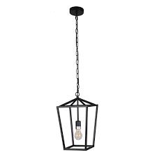 Jl Styles Inc Black Single light lantern Pendant  Retail 88 49