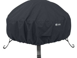 Classic Accessories Water Resistant 30 Inch Round Fire Pit Cover