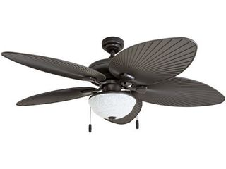 Honeywell Inland Breeze Bronze Outdoor lED Ceiling Fan with light  Retail 158 99