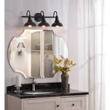Hoffman Black Finish Industrial 3 light Vanity light  Retail 139 97