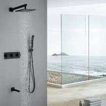 Square Pressure Balanced Complete Shower