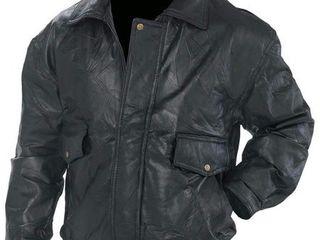 Napolinea Roman Rocka Design Genuine leather Jacket   2x   GFEUCT2X
