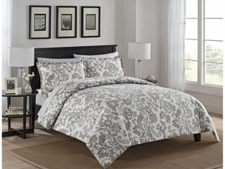 Marble Hill Tanner Reversible 3 Piece Comforter Set  Retail 87 97