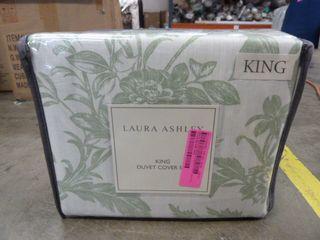lAURA ASHlEY King Size Duvet Cover Set