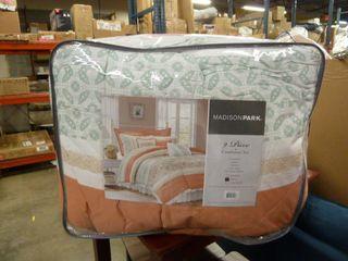 Madison Park 9 Piece KING SIZE Comforter Set
