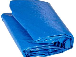Upper Bounce Trampoline Protection Weather and Rain Cover Fits for 14 Feet Round Trampoline Frames  Blue