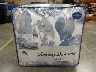 TOMMY BAHAMA King Size Comforter Set