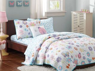 Home Essence Kids Majestic Mia Complete Coverlet and Sheet Set