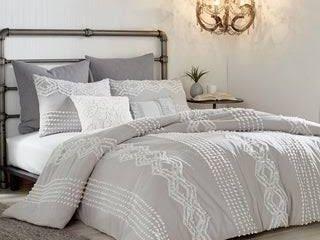 Porch   Den Midea Geometric Pattern Cotton Shams or Duvet Cover  Retail 108 99