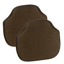 Chestnut  Gripper Omega Windsor Chair Cushion Set of 2