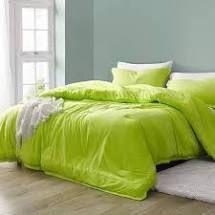 Baby Bird   Coma Inducer Oversized Comforter  neon green