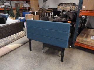 TWIN SIZE Blue Upholstered Headboard