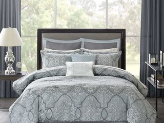 Madison Park Anouk Jacquard 12 piece comforter set