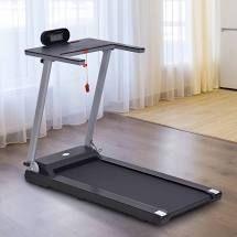 Soozier Electric Folding Treadmill Machine 16  Wide Tread Belt w lCD Display 12 Pre Set Programs 7 5 MPH Max Speed