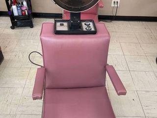 VEECO Dryer Chair with Gemini by Koken Dryer
