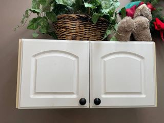 White Hanging Cabinet 32 x 15 x 14