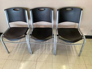 lifetime Waiting Area Chairs x 3