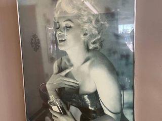 2  Framed Marilyn Monroe Posters