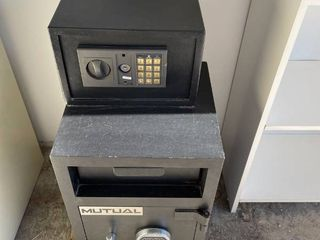 Mutual Drop Safe  With Attached Small Safe