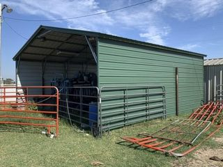 24IJX25IJ PORTABlE METAl SHED RV PORT  CURRENTlY US