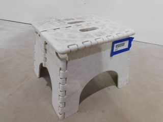 Collapsible folding step stool