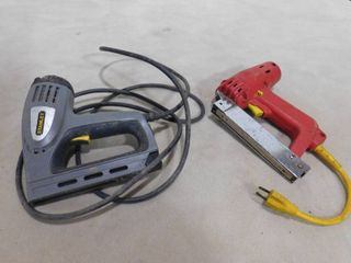 Arrow elctromatic electric staple gun and Stanley electric staple gun