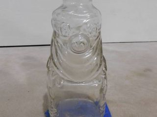 Vintage collectible Grapette family beverage syrup bottle clown coin bank