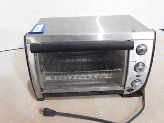 Black   Decker toaster oven