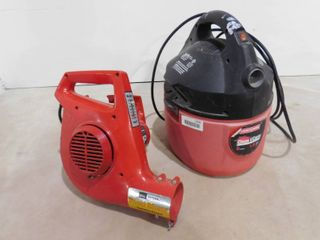 Craftsman Clean and Carry 2 gallon shop vac and Sears craftsman 1HP Variable power leaf blower