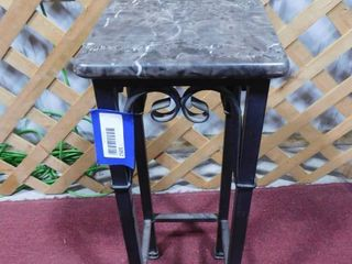 2 ft H standing plant stand  top needs reglued