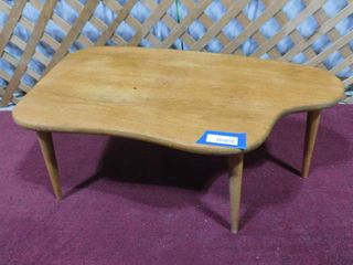 Small wooden coffee table 3 ft l X 19 in W X 15 1 2 in H