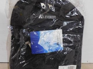 Everest black backpack