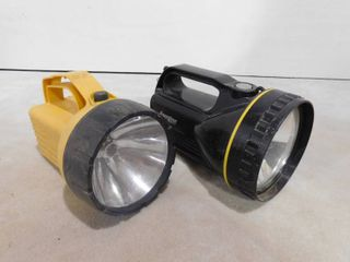 2 lantern flashlights