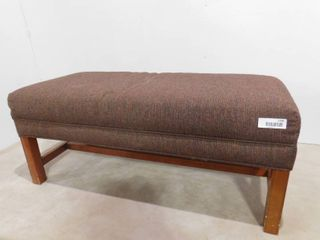 Flexsteel upholstered bench 40 in l X 19 in W X 17 in H