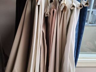WOMEN S ClOTHES  Slacks  Sizes 14 and 16 mostly  Brands  CHICOS  TAlBOTS and other Brands