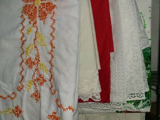 VARIETY OF TABlE ClOTHS
