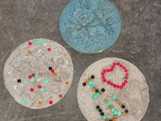 Garden Stepping Stones lot of 3