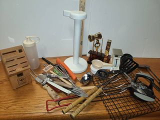 MISCEllANEOUS KITCHEN UTENSIlS and OTHER RANDOM THINGS