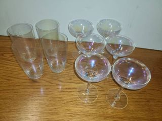 OPAlESCENT GlASSES  10 Total
