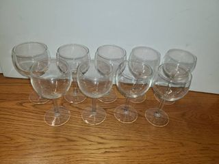 9 RED WINE GlASSES
