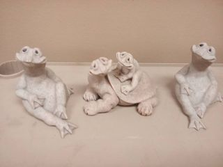 Quarry Critters lot of 3