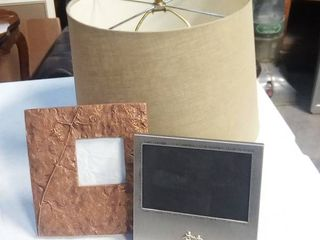 lampshade and Picture Frames