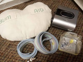Cpap Parts with lap Belts and Cushion