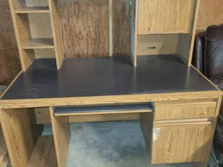 Two Piece Desk 60 x 54 x 30 in
