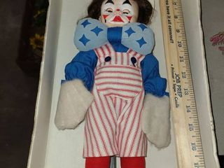 TOY ClOWN in a BOX