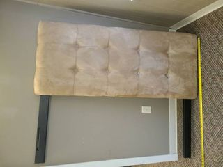 MICRO FIBER HEADBOARD  Approximately 50  tall x 60  wide  VERY NICE